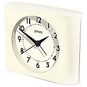 Jones Strike Cream Mantle Clock