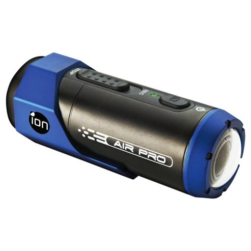 iON Air Pro HD Action Camera, Black/Blue, Waterproof, Wi-Fi
