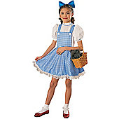 Rubies Fancy Dress - Deluxe Child Dorothy Costume - Medium - UK Size 5-7 Years
