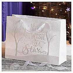 Wish Upon A Star Christmas Gift Bag, Extra Large