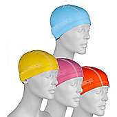 Speedo Pace Junior Lycra Swimming Cap - Orange