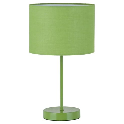 Tesco Lighting Funky Matchstick Table Lamp, Lime