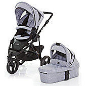 ABC Design Cobra 3 in 1 Pushchair & Carrycot (Black/Graphite)
