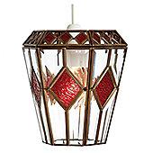 Loxton Lighting 1 Light Diamond Lantern