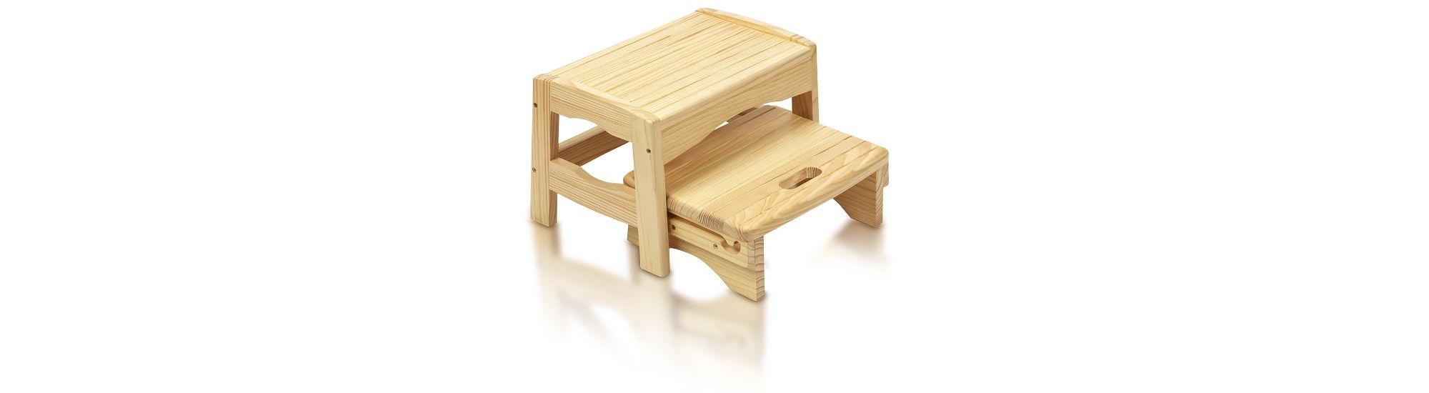 Tesco Direct Safety 1st Wooden 2 Step Stool Special