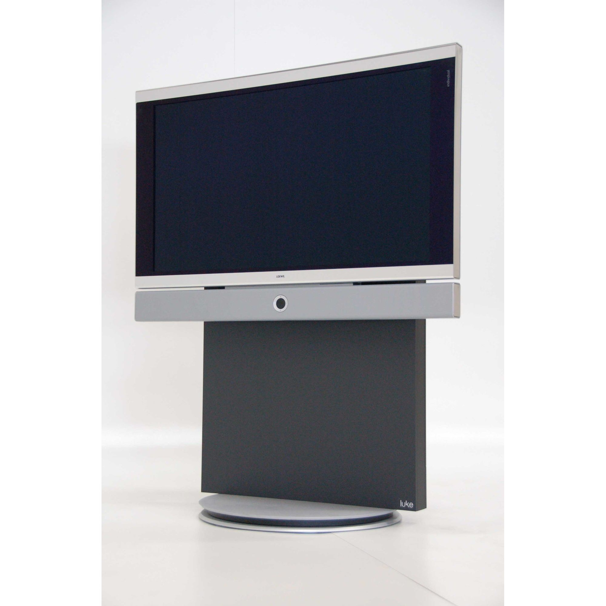 Luke Furniture TV Stand - Dark Grey at Tesco Direct