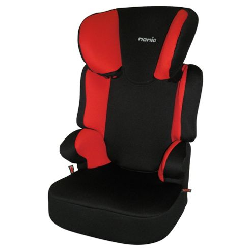 Nania Befix High back booster Seat, Group 2-3, Black/Red