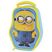 Minions Face Blue Lunchbag