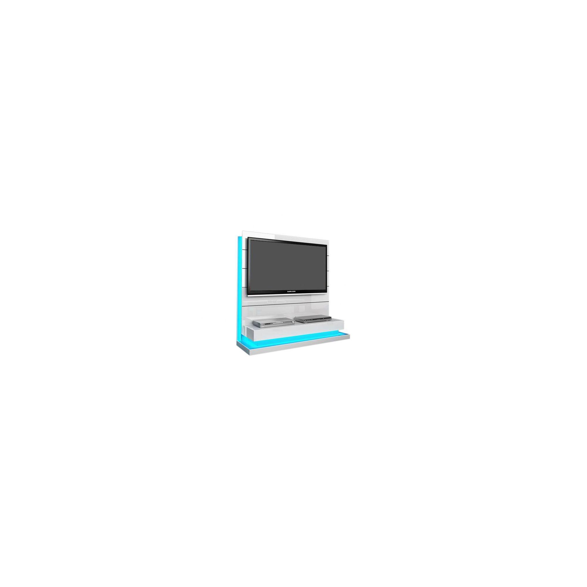 Triskom Contemporary 55'' TV Stand - White Gloss at Tesco Direct