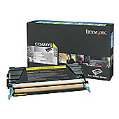 Lexmark toner cartridge - Yellow (C734A1YG)