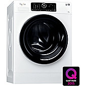 Whirlpool FSCR80433 Washing Machine, 8, 1400rpm, A+++ Energy Rating, Black