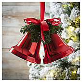 Weiste Red Bells Christmas Tree Decoration