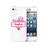 Personalised Bling Princess iPhone 5 Case