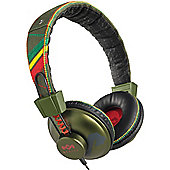 HOUSE OF MARLEY POSITIVE VIBRATION HEADPHONES (ROOTS)