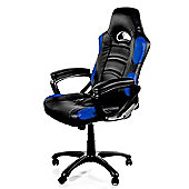 Arozzi Enzo Gaming Chair Blue High quality Thick padding on the arm wrists ENZO-BL