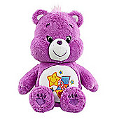 Care Bears Medium Soft Toy with DVD - Surprise Bear