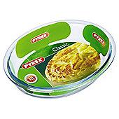 Pyrex Oval Glass Pie Dish