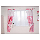 Red Kite Hello Ernest Curtains, Pink