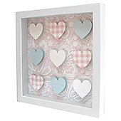 Tesco Kids Pastel Printed Framed Wall Art