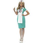 Nurse Scrubs Costume Large