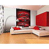 1Wall 458 Italia Red Ferrari Wall Mural