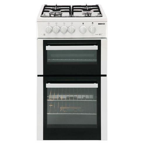 Beko BDVG592W Cooker White