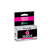 Lexmark No150XLA M High Yield Ink Cartridge Magenta 14N1646