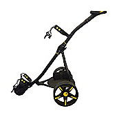 Electric Golf Trolley Black & Yellow