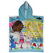 Disney Doc Mcstuffins 'Sun Shine Rocks' Hooded Poncho Towel