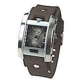 Bench Gents Rubber Strap Watch BC0018BR