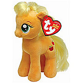 "TY Beanie Baby My Little Pony Buddy 12"" - Apple Jack"