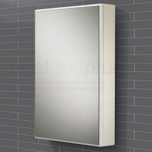 buy hib tulsa mirrored bathroom cabinet 700mm high x 500mm