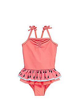 F&F Watermelon Frill Swimsuit - Pink