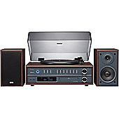 TEAC LPP1000 TURNTABLE/CD/FM/AM HIFI SYSTEM WITH BLUETOOTH (CHERRY)