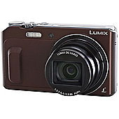 Panasonic DMC-TZ57 Camera Bronze 16MP 20xZoom 3.0LCD FHD 24mm Lumix DC WiFi