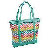 Tesco Picnic Chevron Shoulder Tote Cooler