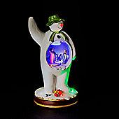 Battery Operated 28cm Musical Snowman, Billy & Snowdog Illuminated Figure