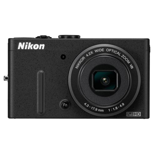 Nikon Coolpix P310 Digital Camera, Black, 16MP, 4.2x Optical Zoom, 3.0 inch LCD Screen