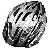 Carrera E0424 Hook MTB Helmet Shiny White/Silver Large Xlarge 58-62cm