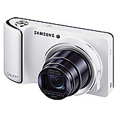 "Samsung Galaxy Digital Camera, White, 16.3MP, 21x Optical Zoom, 4.8"" HD Touch LCD Screen, 3G, Wi-Fi"