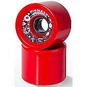 Mindless Longboards Creeper Longboard Wheels - Red