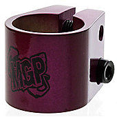 Madd Gear MGP Double Collar Scooter Clamp - Purple