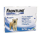Frontline Spot On (Medium Dog 10-20kg) [3 pack]