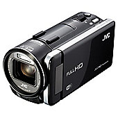 "JVC GZ-GX1 BEK Full HD Camcorder, Black, 10x Optical Zoom, 3.5"" LCD Touch Screen, Wi-Fi"