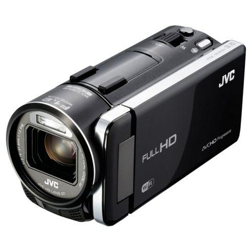 JVC GZ-GX1 BEK Full HD Camcorder, Black, 10x Optical Zoom, 3.5