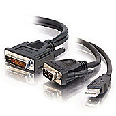 Cables to Go M1 to HD15 VGA + USB A Cable