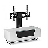 CRO2-1000BKT-WH Chromium 2 Cantilever TV Stands for 50 TV in White