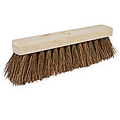 "Silverline Broom Stiff Bassine 304mm (12"")"