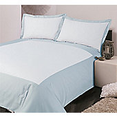 Hotel Collection Oxford Superking Duvet Cover Set In Blue