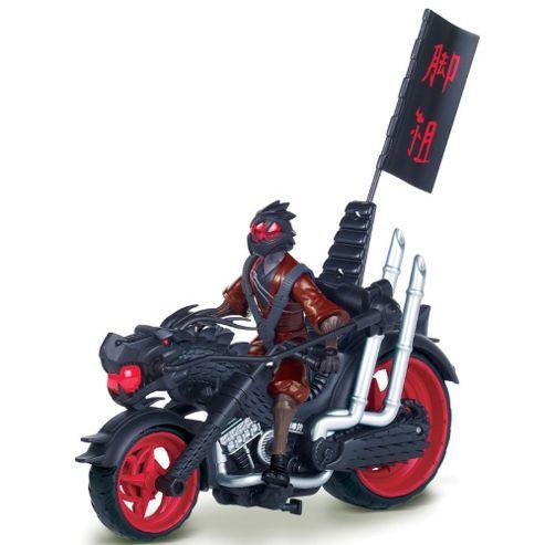 Teenage Mutant Ninja Turtles Ninja Dragon Chopper with Exclusive Foot Soldier Figure